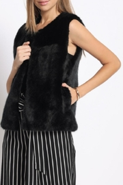 Sans Souci Faux Fur Vest - Side cropped