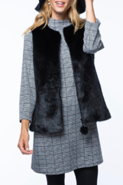 Tyler Boe Faux Fur Vest - Product Mini Image