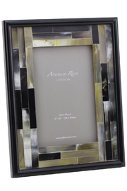 Addison Ross 4x6 Faux-Horn Mosaic Frame - Product Mini Image
