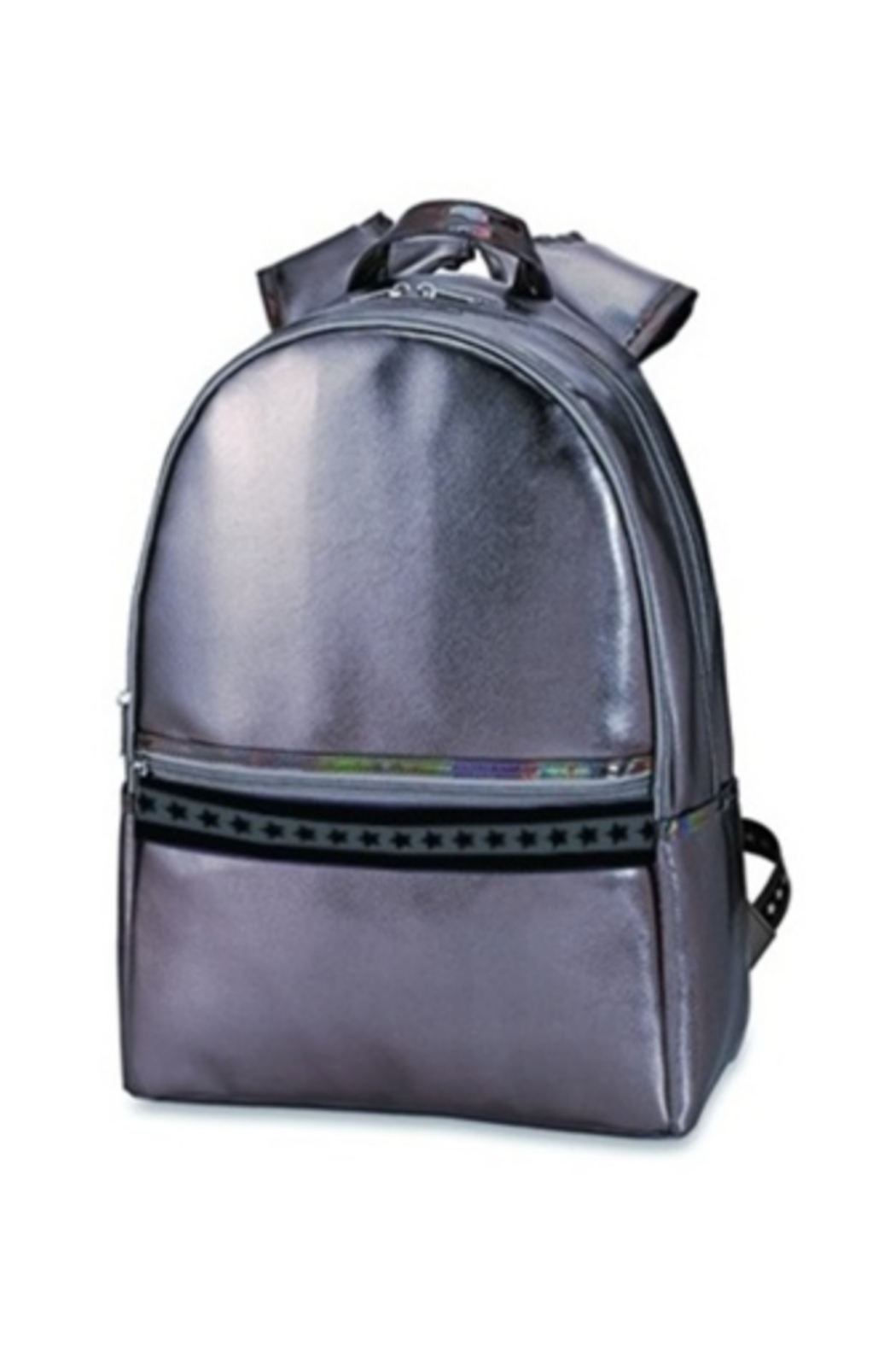 Top Trenz Faux leather backpack - Main Image