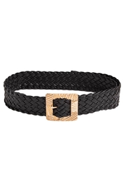 Anarchy Street Faux Leather Buckle Belt - Product Mini Image