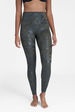 Shoptiques Product: Faux Leather Camo Legging