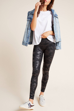 Spanx Faux Leather Camo Leggings - Product List Image