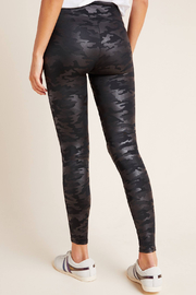 Spanx Faux Leather Camo Leggings - Other