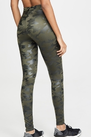 Spanx Faux-Leather Camo Leggings - Side cropped