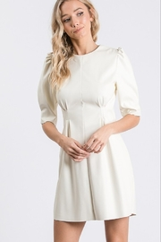 Idem Ditto  Faux Leather Dress - Product Mini Image