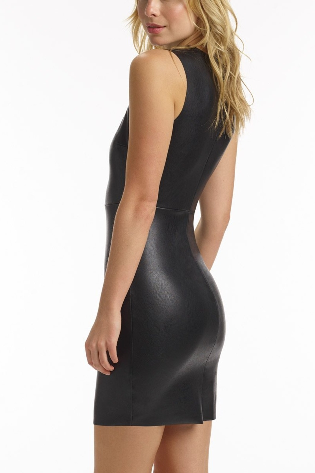 Commando Faux Leather Dress - Front Full Image