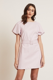 Lucy Paris Faux Leather Dress - Product Mini Image
