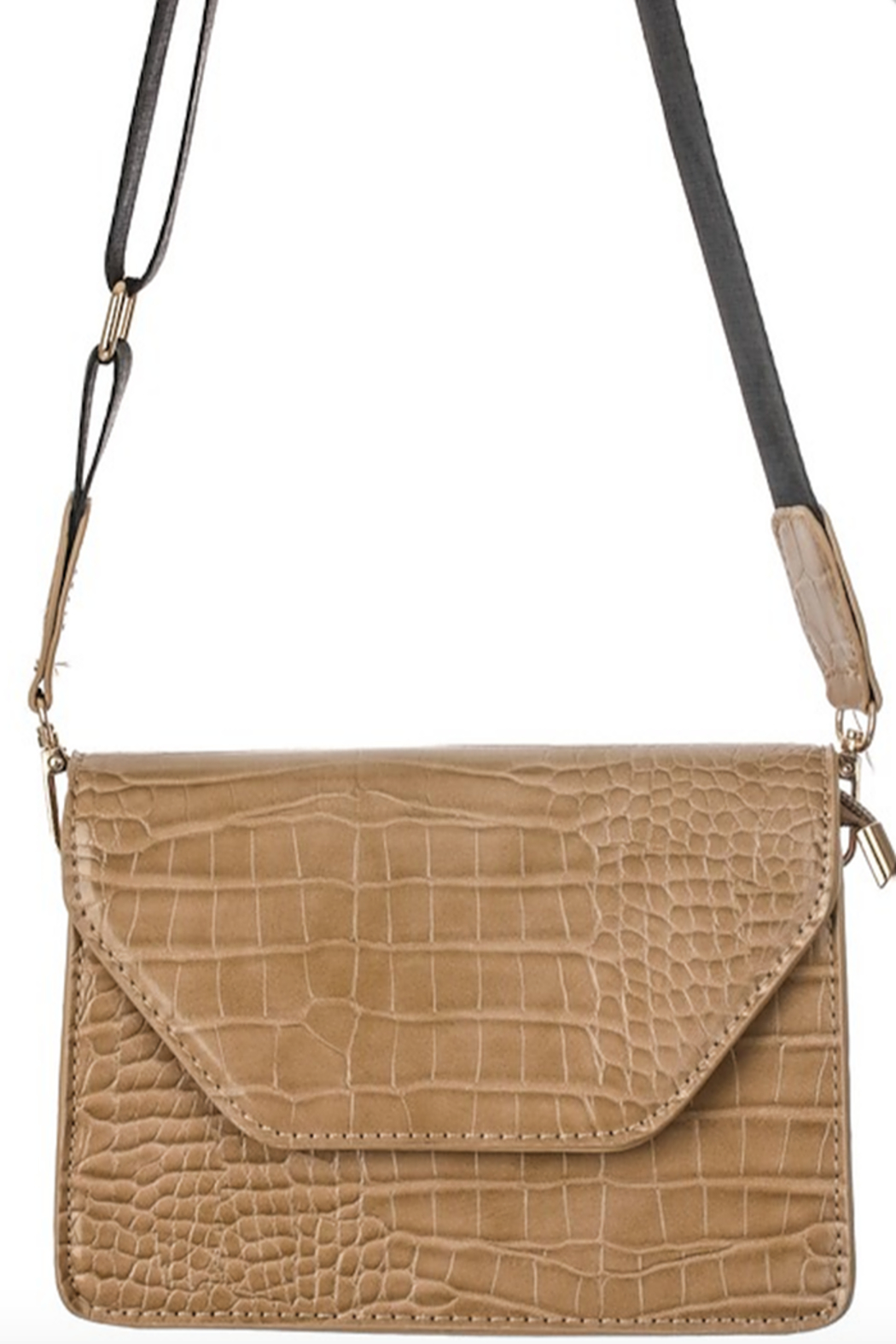 Anarchy Street Faux Leather Flap Side Bag - Side Cropped Image