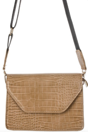 Anarchy Street Faux Leather Flap Side Bag - Side cropped