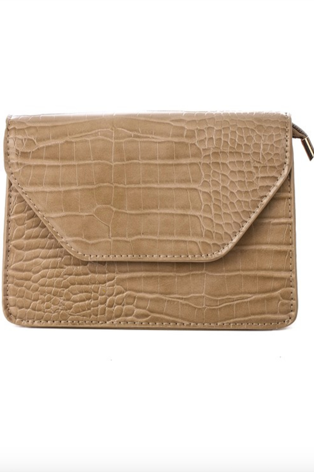 Anarchy Street Faux Leather Flap Side Bag - Main Image