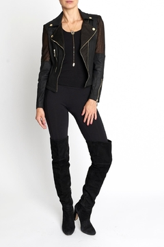 Insight Faux Leather Jacket - Product List Image