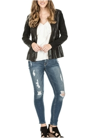 Joy Joy Faux Leather Jacket - Product Mini Image