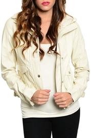 Adore Clothes & More Faux Leather Jacket - Product Mini Image