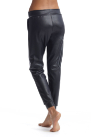 Commando  Faux Leather Jogger - Side cropped