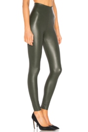 Commando Faux Leather Legging - Front full body