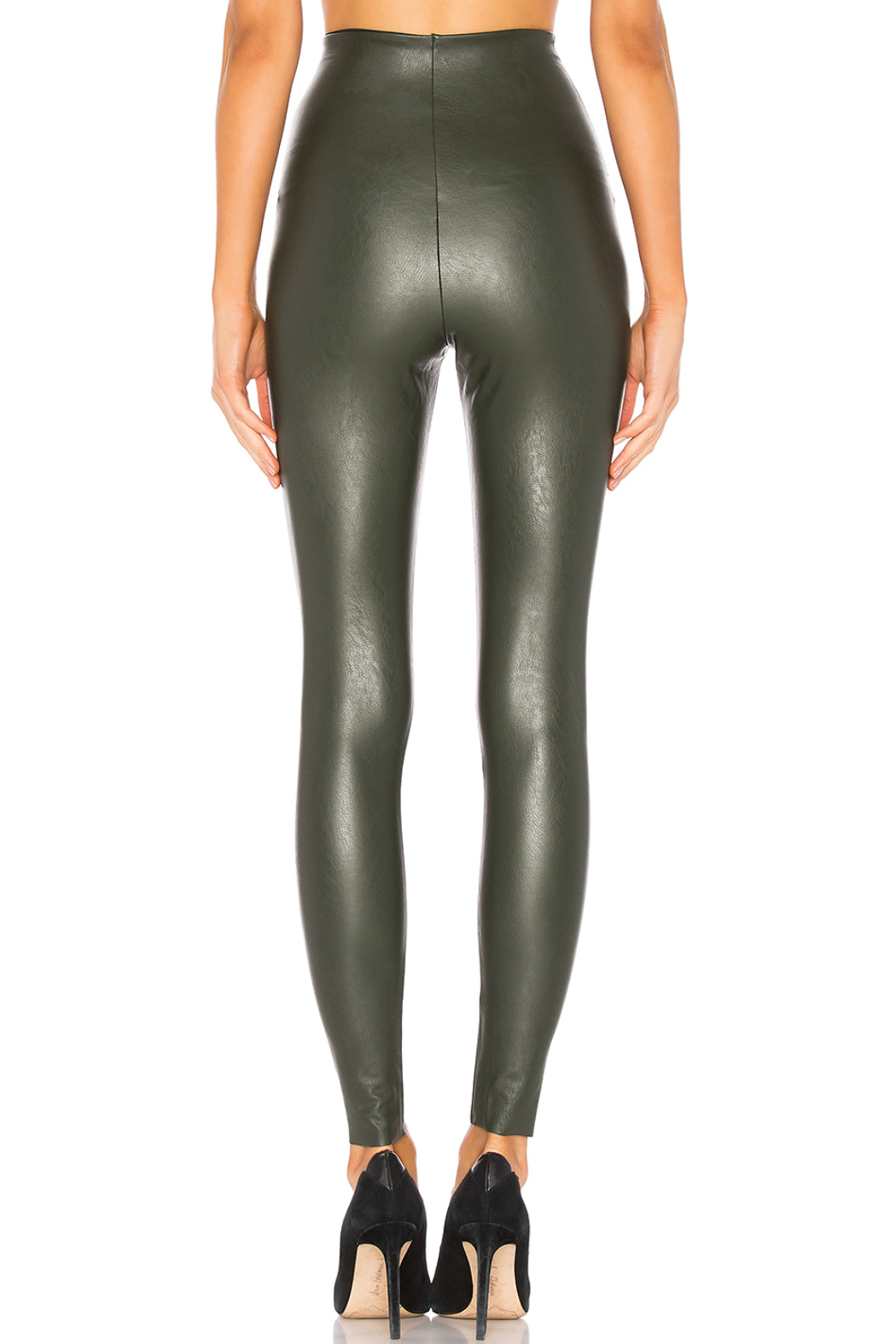 Commando Faux Leather Legging - Side Cropped Image