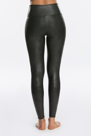 Spanx Faux Leather Leggings - Front full body