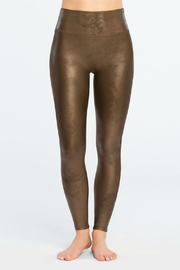 Spanx Faux Leather Leggings - Front cropped