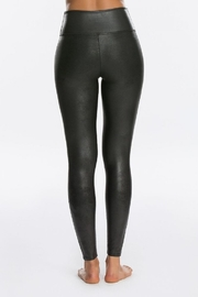 Spanx Faux Leather Leggings - Back cropped
