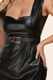 latiste  Faux Leather Mini - Side cropped