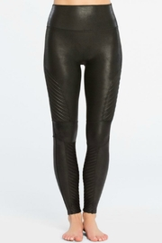 Spanx Faux Leather Moto Legging - Side cropped