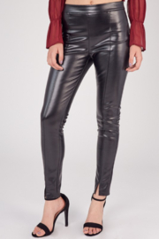 Idem Ditto  Faux Leather Pant - Front full body