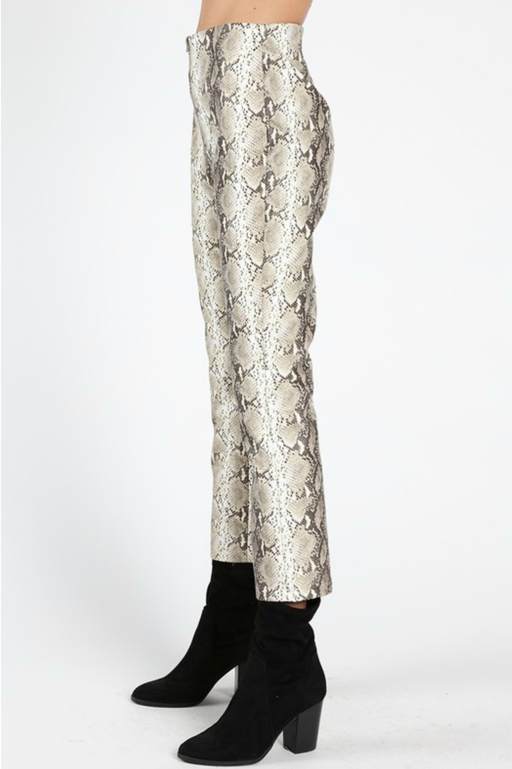 Wild Honey Faux Leather Pant - Front Full Image