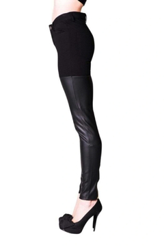 virgin only Faux Leather Pants - Alternate List Image
