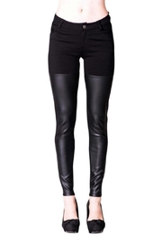 virgin only Faux Leather Pants - Product Mini Image