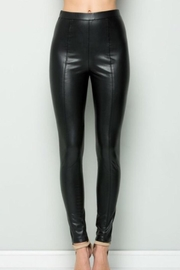 See & Be Seen Faux Leather Pants - Product Mini Image