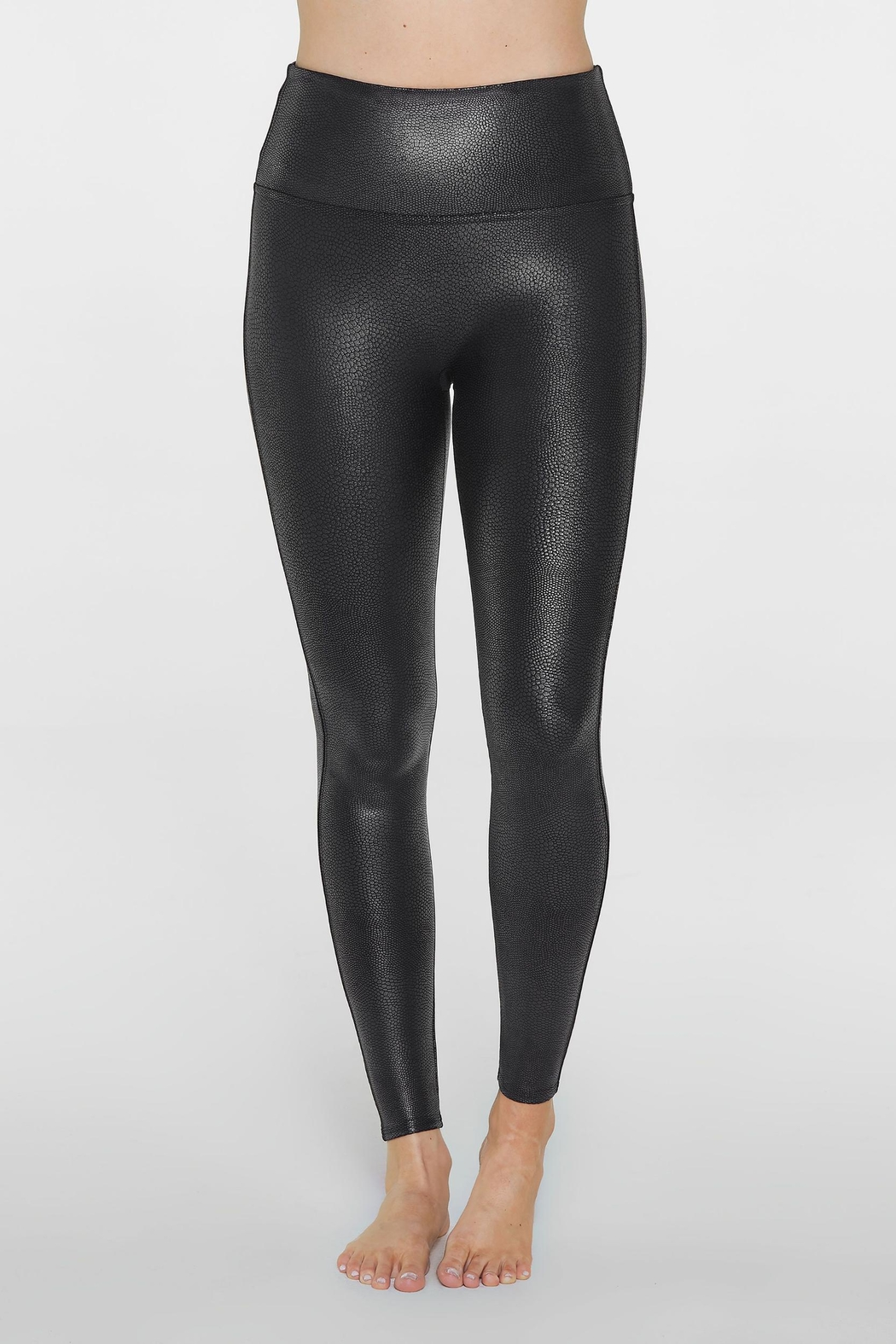 Spanx Faux-Leather Pebbled Legging - Main Image