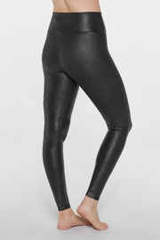 Spanx Faux-Leather Pebbled Legging - Back cropped