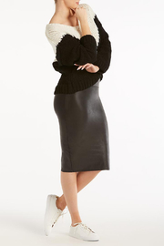 Spanx Faux Leather Pencil Skirt - Other