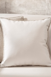 Gift Craft Faux Leather Pillow - Product Mini Image