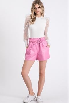 Idem Ditto  Faux Leather Short - Product List Image