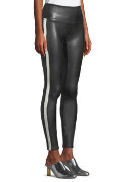 Spanx Faux Leather Side-Stripe Leggings - Product List Image