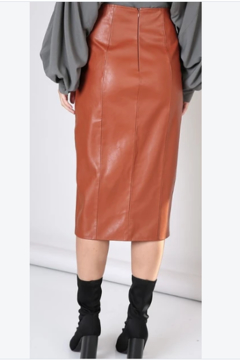 Do & Be Faux leather skirt - Alternate List Image
