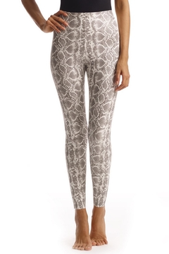Shoptiques Product: Faux Leather Snake Leggings
