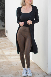 Spanx Faux Leather Snakeskin Leggings - Other