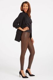 Spanx Faux Leather Snakeskin Legging - Back cropped