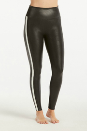 Spanx Faux Leather Stripe Legging - Product Mini Image