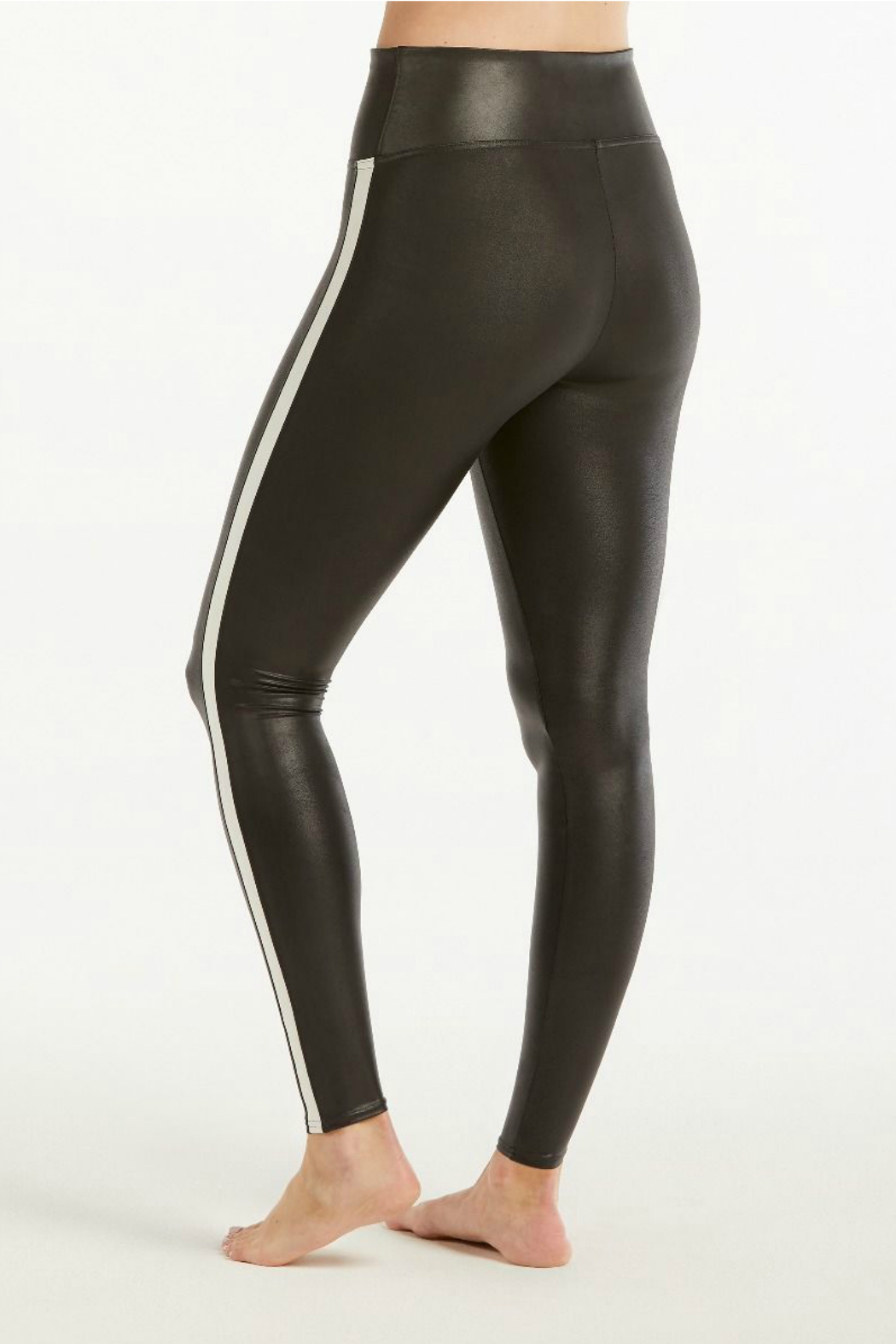 ae84375669e47 Spanx Faux Leather Stripe Legging from New Jersey by Charlotte's Web ...