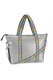 top trendz Faux leather weekender tote - Product Mini Image
