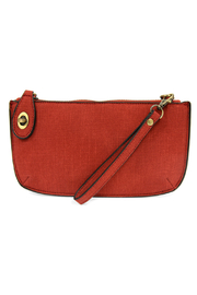 Joy Susan  Faux Linen Crossbody Wristlet Clutch - Product Mini Image
