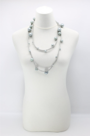 Jianhui London  Faux Pearls on Textile Cord - Side cropped