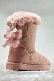 Giftcraft Inc.  Faux Shearing Booties - Product Mini Image