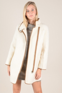 Molly Bracken Faux Shearling Coat - Product List Image