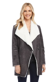 Karen Kane Faux Shearling Coat - Product Mini Image