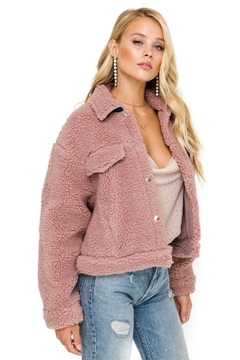 ASTR Faux Shearling Jacket - Product List Image